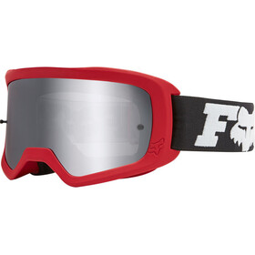 Fox Main II Linc Spark Goggles, flame red/chrome mirrored